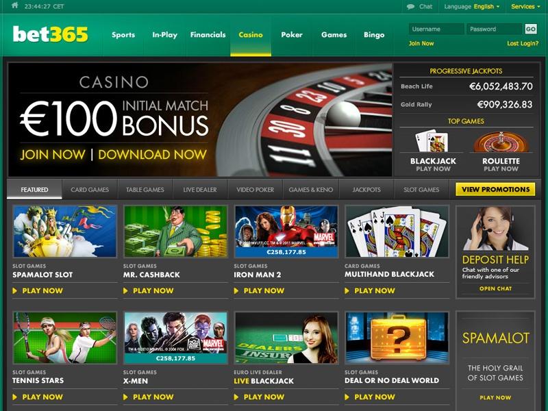 Bet365 Mobile App | Get Bonus up to €200 For Casino Play